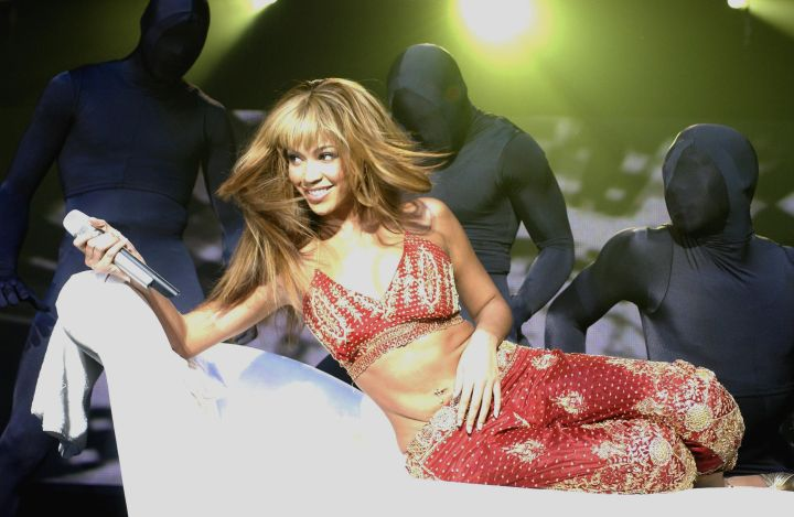 Beyonce Knowles Performing At Wembley Arena, London, Britain - 10 Nov 2003