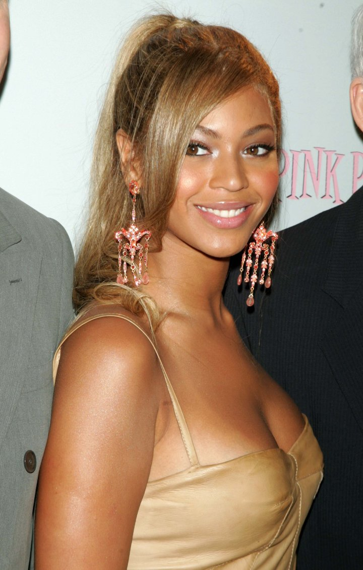 Young, fresh-faced Beyonce