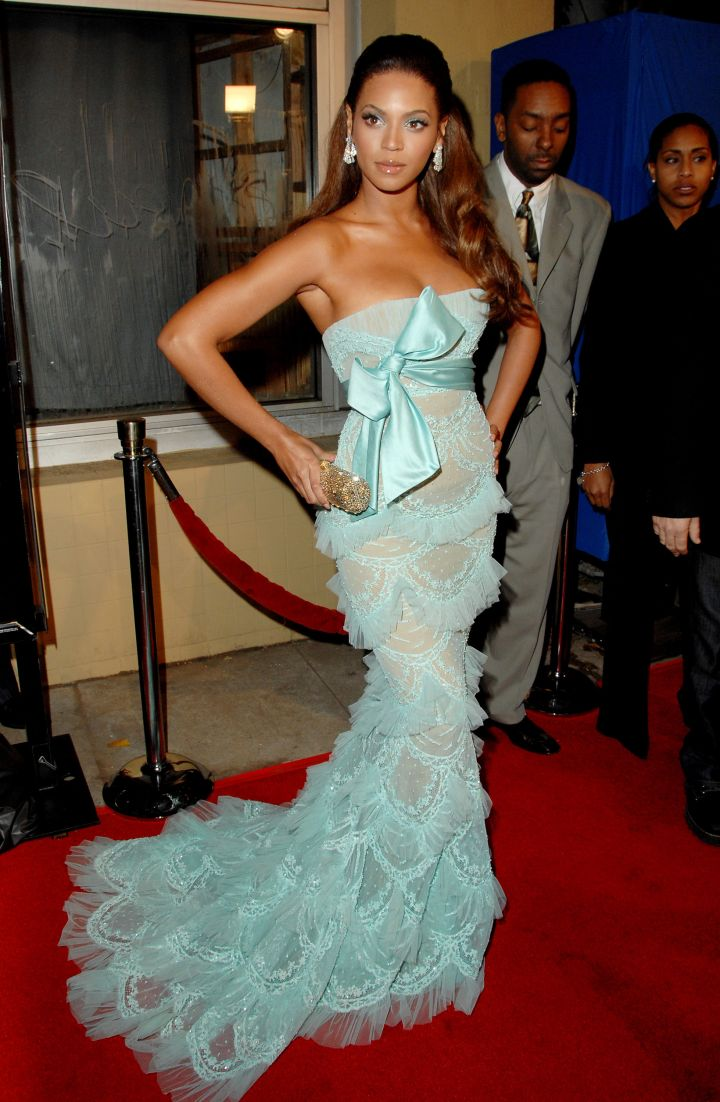 Beyonce is no stranger to a fishtail gown