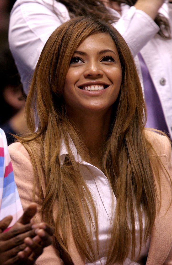 A natural Bey goes courtside