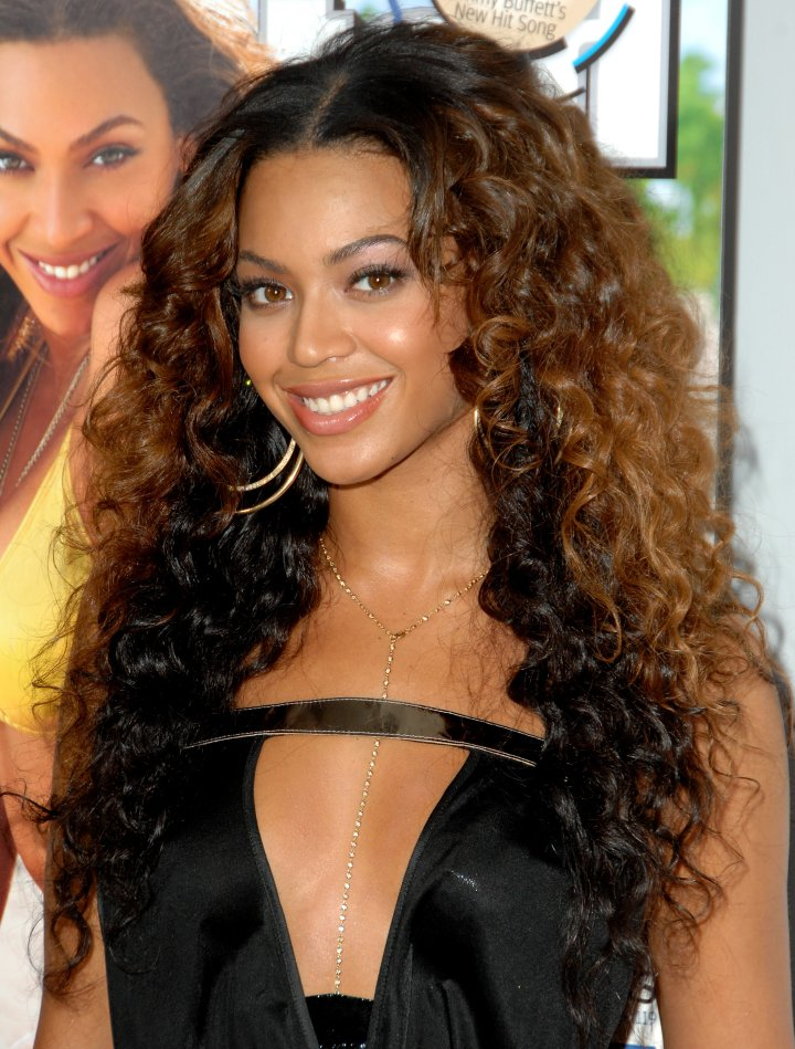 Bey masters the beach hair look