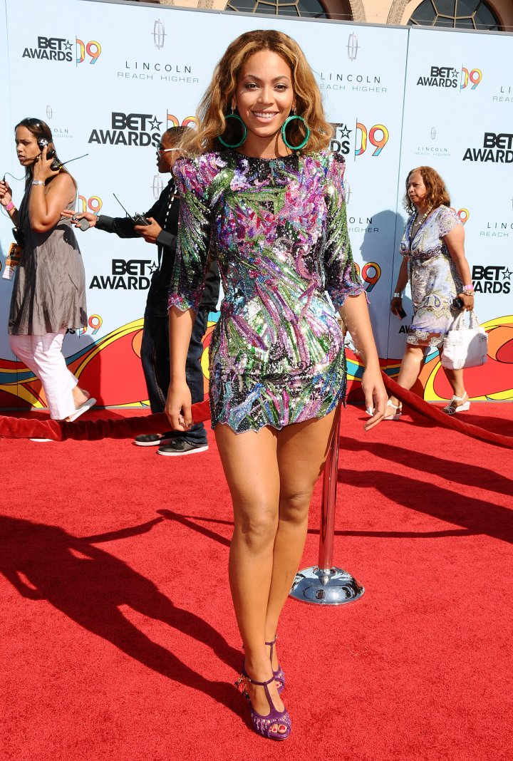Bey ups her fashion game on the red carpet