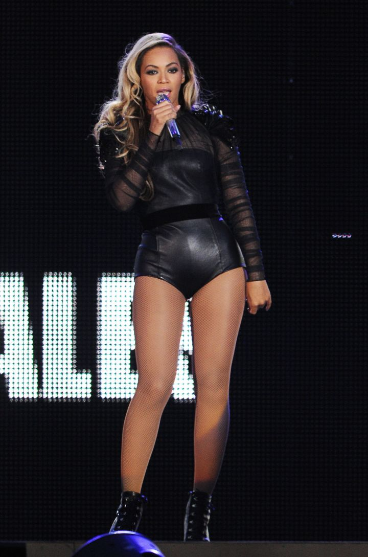 Leather leotard? Yes please!