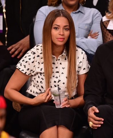 Celebrities Attend the Brooklyn Nets Vs. Cleveland Cavaliers