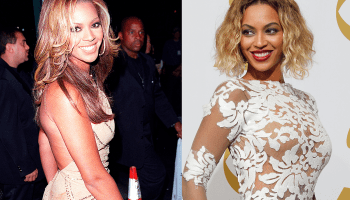 Beyonce Then and Now