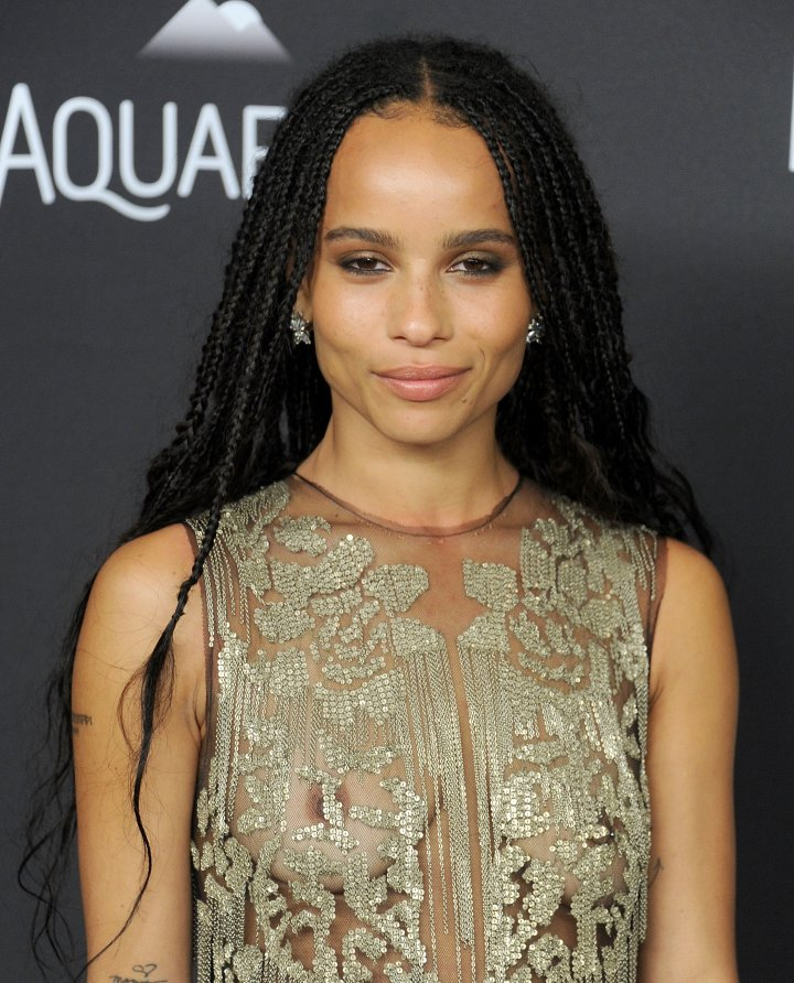 Braids have now become the hottest trend for young celebs like Zoe Kravitz—from street style to the red carpet.