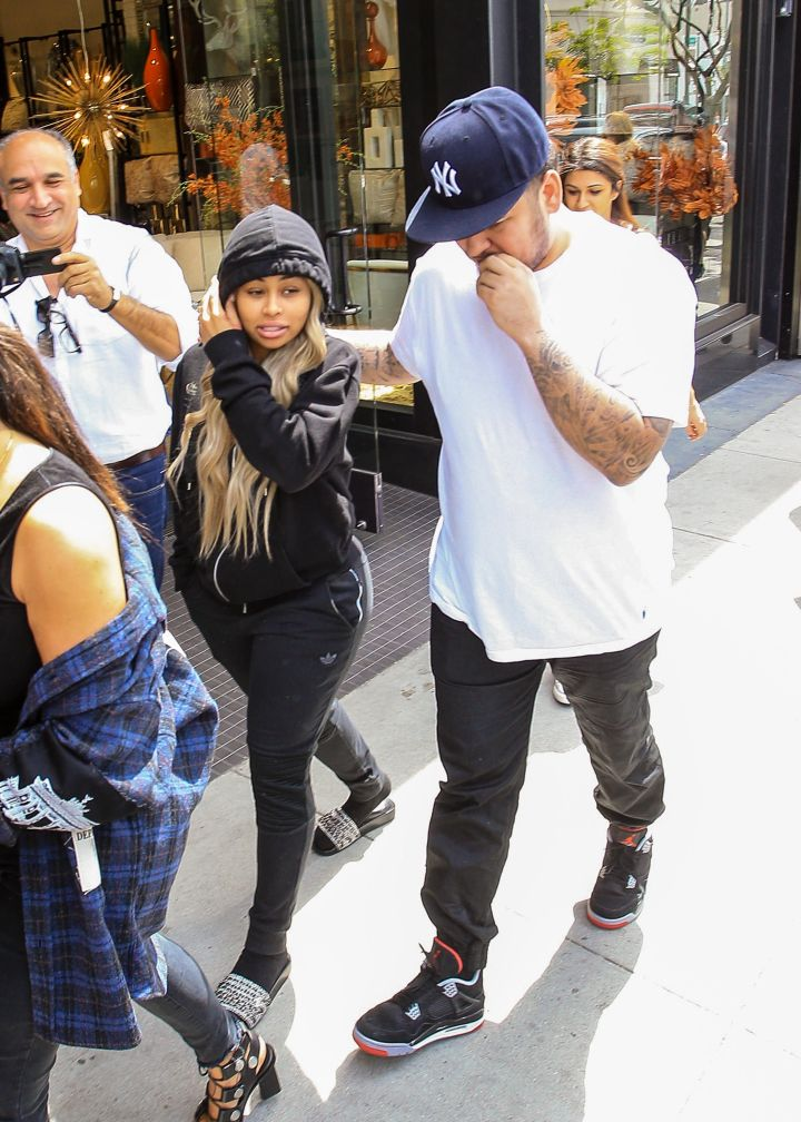 Before the announcement of her pregnancy, Blac Chyna was spotted arriving to a doctor's appointment with Rob and Kim Kardashian.