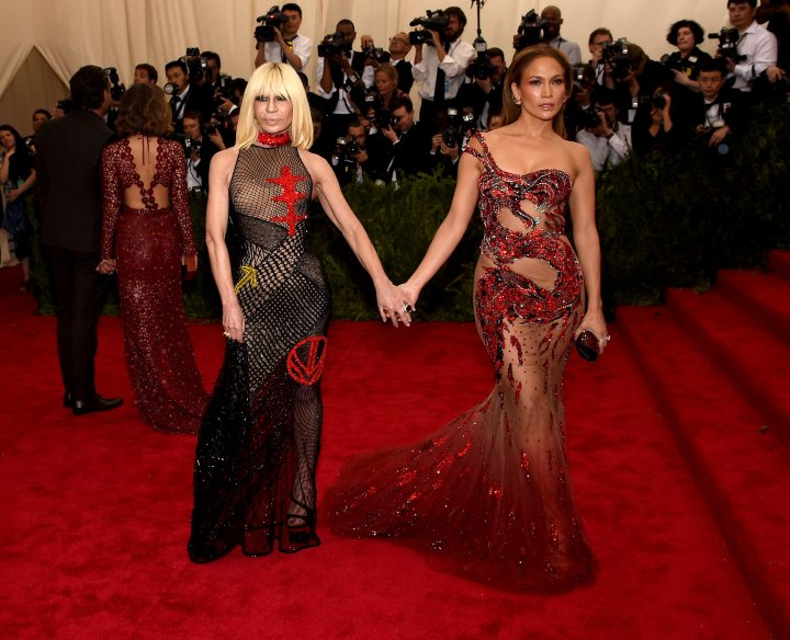 Jennifer Lopez is one of Donatella's dearest and oldest friends (and clients).