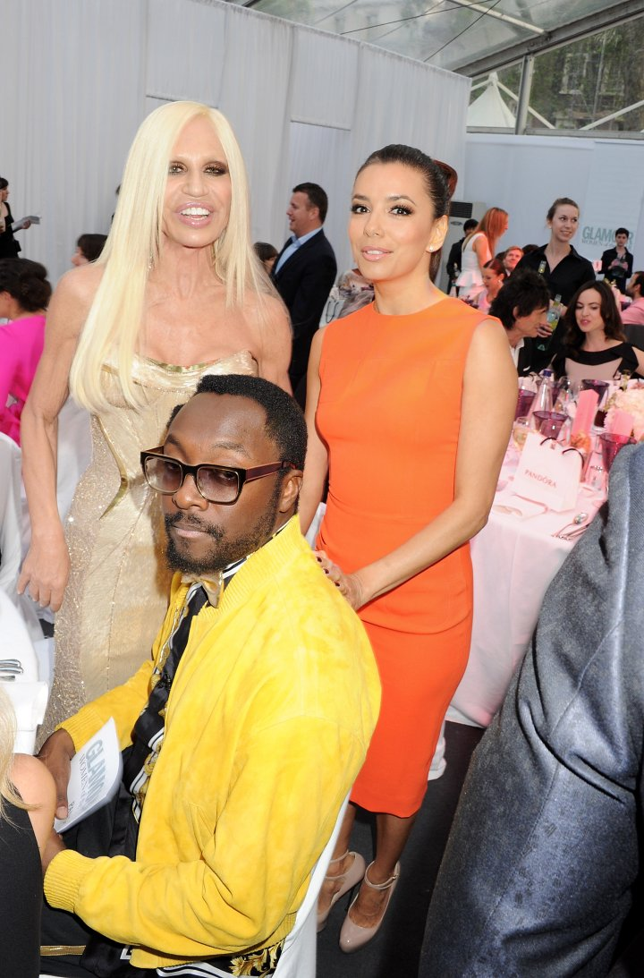 All laughs with Eva Longoria and will.i.am.