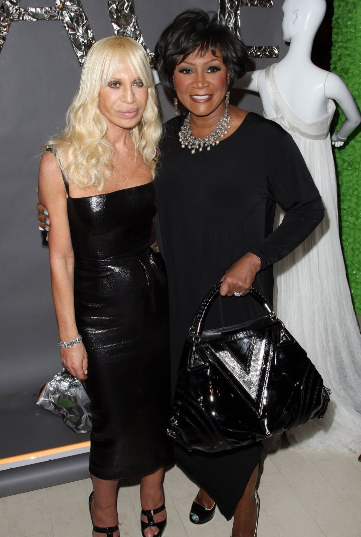 Even Ms. Patti LaBelle hangs out with the fashion queen.