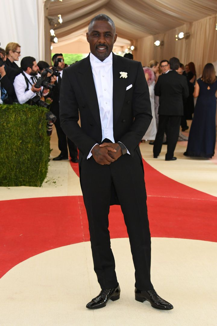 Idris Elba suited up in Tom Ford.