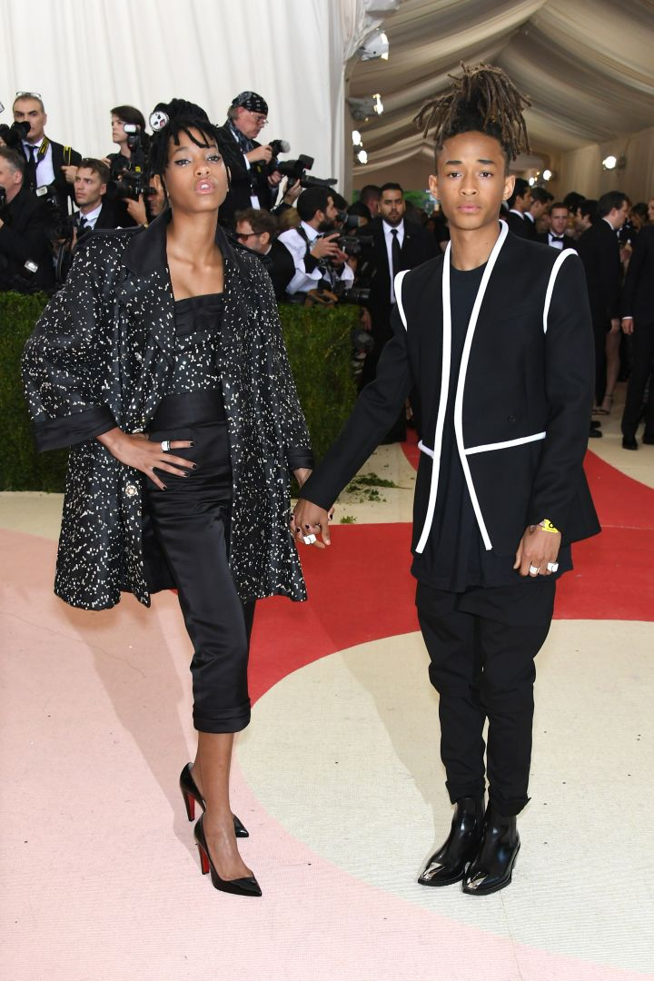 The Smith's wear Chanel and Louis Vuitton.