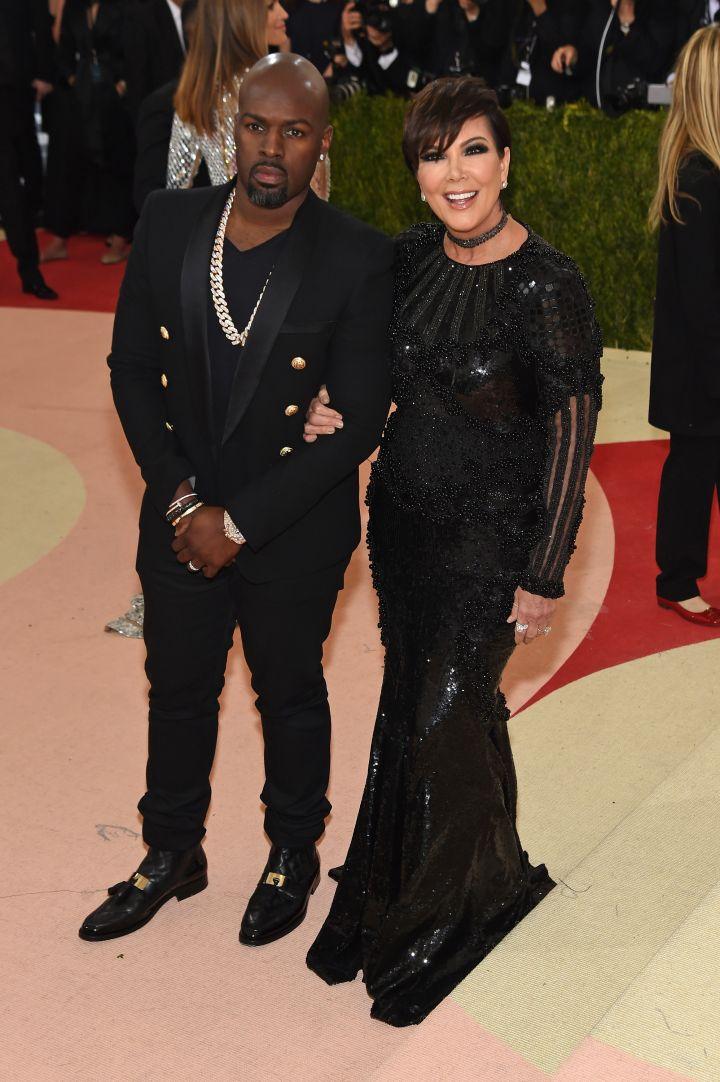 Kris Jenner and Corey Gamble do date night.