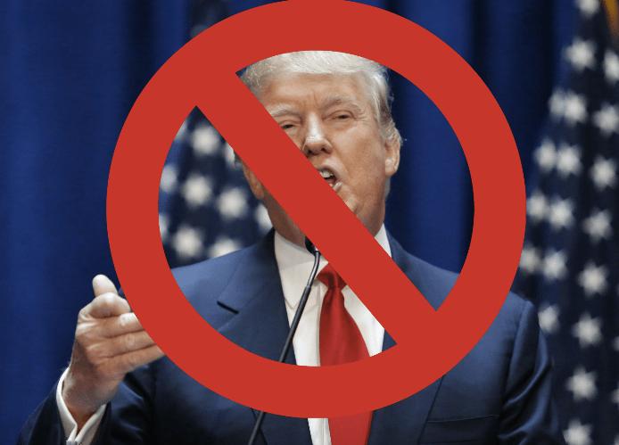 No Donald Trump
