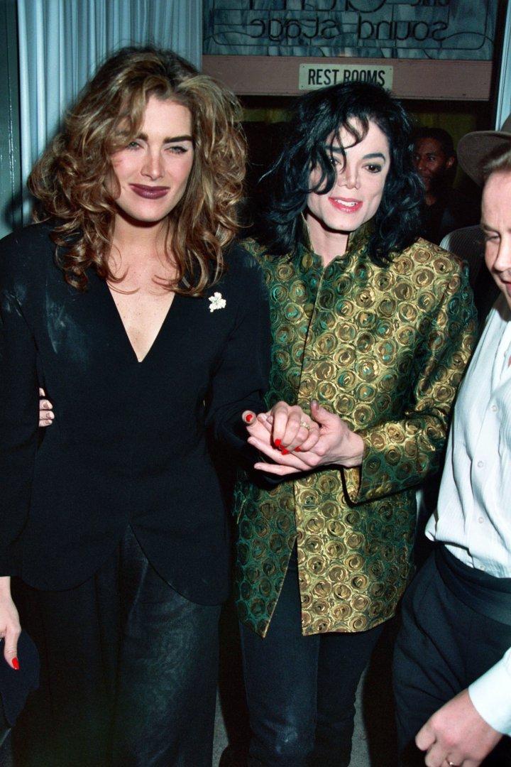 Celebrity Odd Couples: Brooke Shields + Michael Jackson