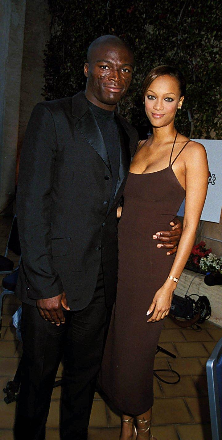 Celebrity Odd Couples: Tyra Banks + Seal