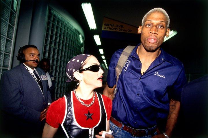 Celebrity Odd Couples: Madonna + Dennis Rodman