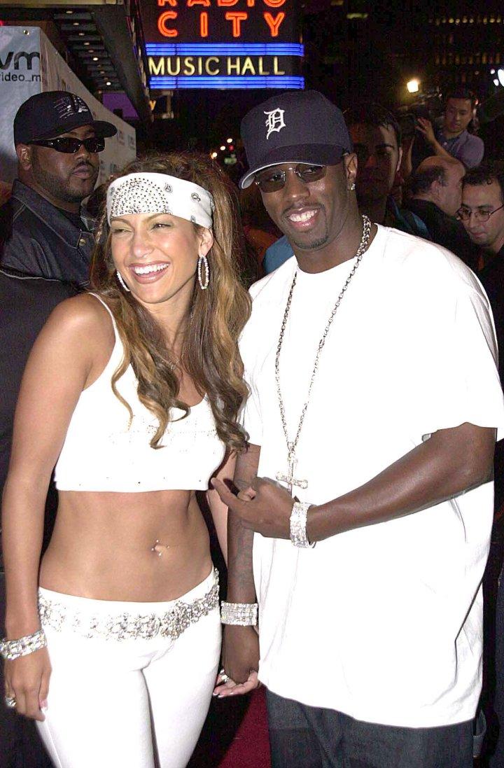 Celebrity Odd Couples: Jennifer Lopez + Puff Daddy