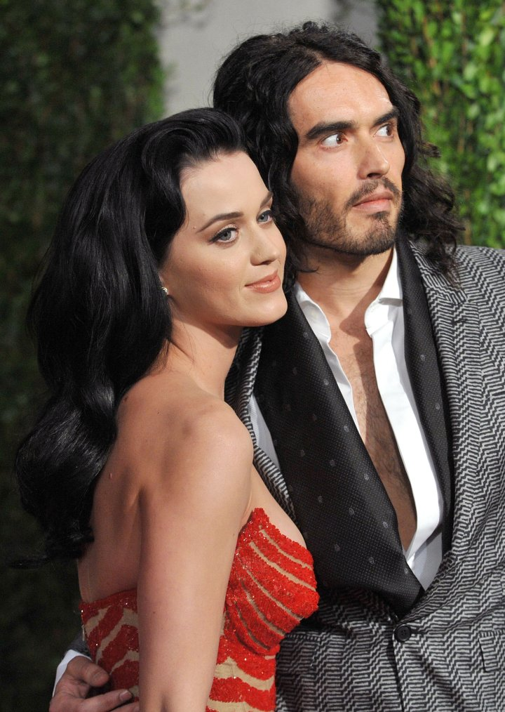 Celebrity Odd Couples: Katy Perry + Russel Brand