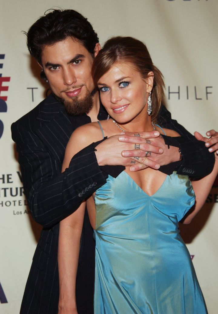Celebrity Odd Couples: Carmen Electra + Dave Navarro
