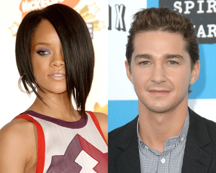 Celebrity Odd Couples: Rihanna + Shia LaBeouf