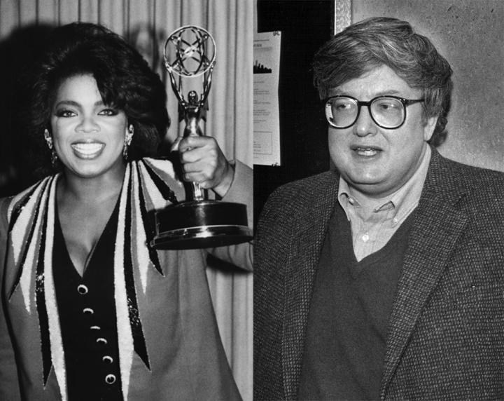 Celebrity Odd Couples: Oprah Winfrey + Roger Ebert