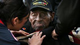 Ceremony Held At World War II Memorial To Commemorate Pearl Harbor Attacks