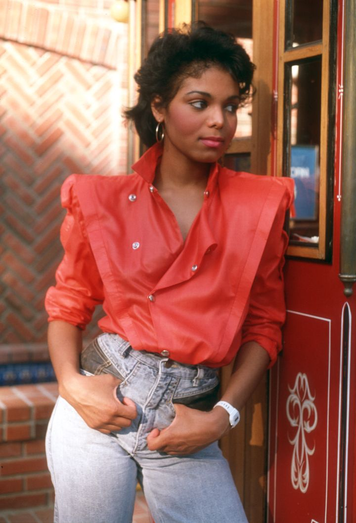 Janet Jackson made shoulder pads the go-to trend in the '80s.