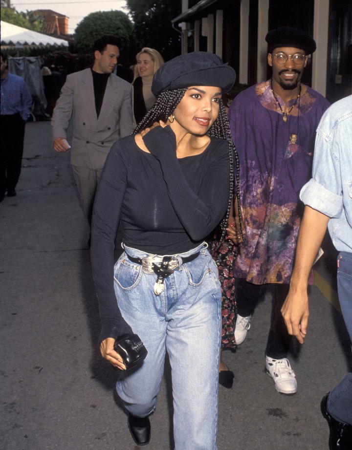 "Janet became synonymous with braids back in the '90s following the release of her film ""Poetic Justice."""