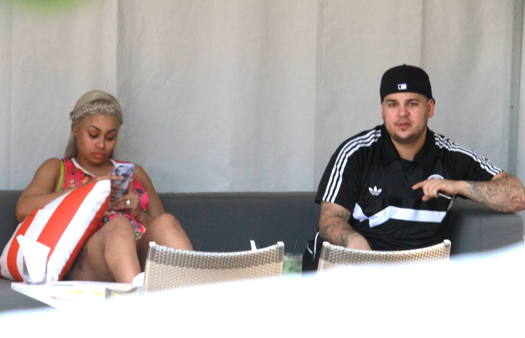 Blac Chyna, Angela Kardashian, Rob Kardashian,