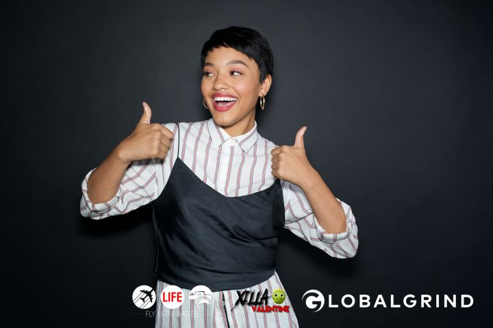 Thumbs up from Kiersey Clemons.