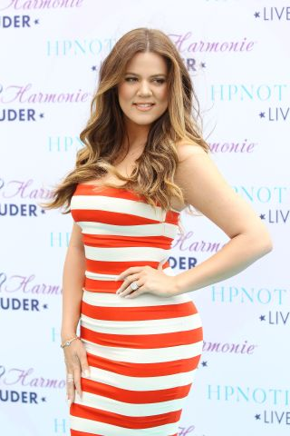Khloe Kardashian Odom HPNOTIQ Glam Louder Program Launch
