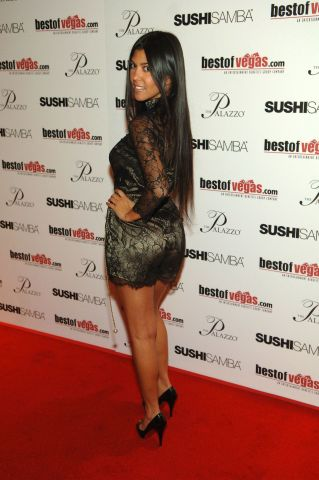 Nicky Hilton And Kourtney Kardashian Host BestOfVegas Launch Party At Sushi Samba