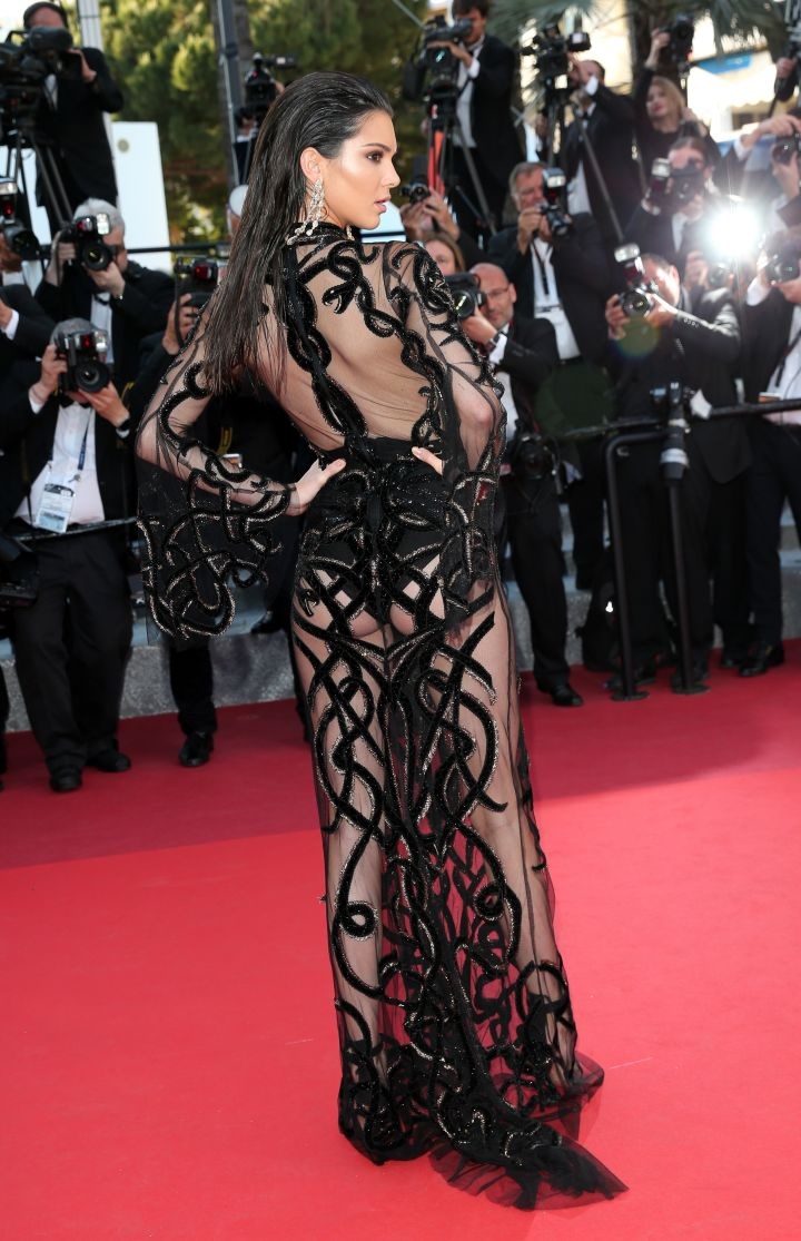 Look but don't touch booty at the 2016 Cannes Film Festival.
