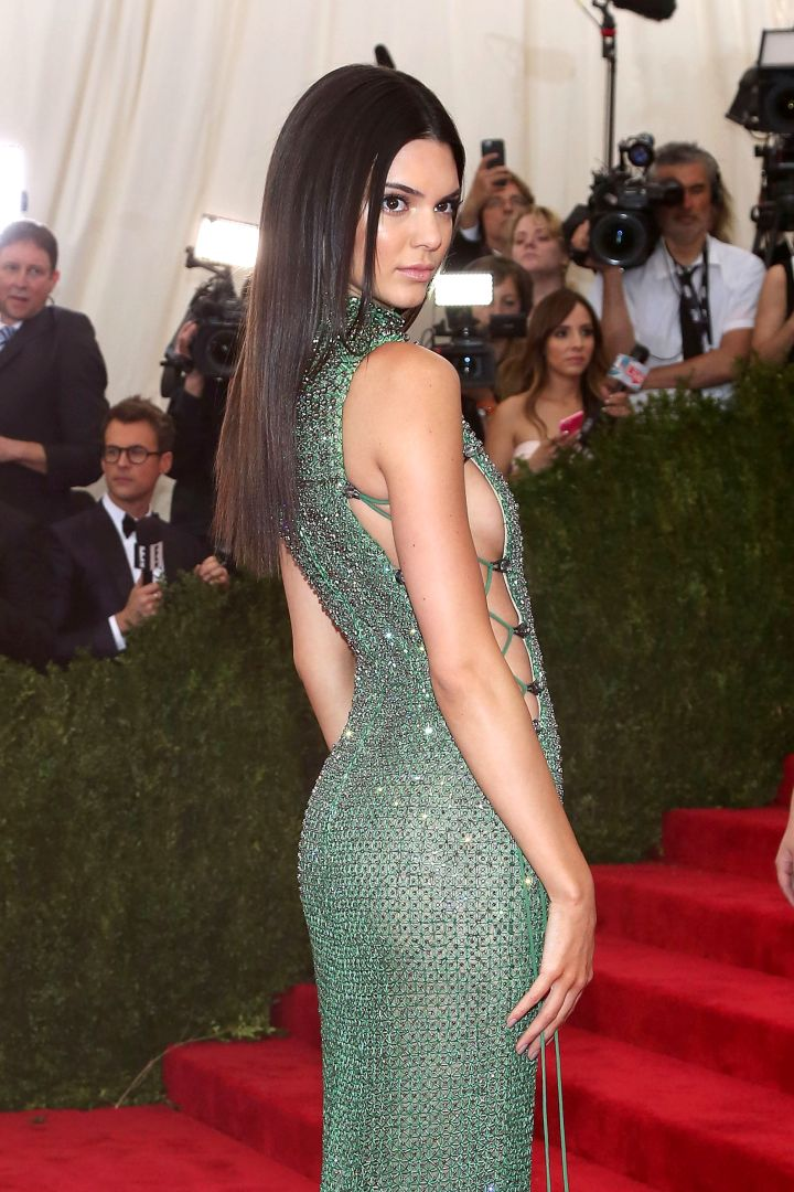 """""""I dare you"""" booty at the 2015 Met Gala."""