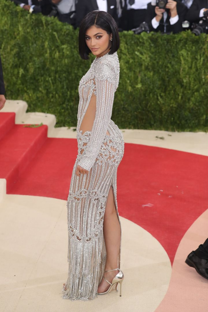 Kylie Jenner has a lot more drunk in her trunk at the 2016 Met Gala.