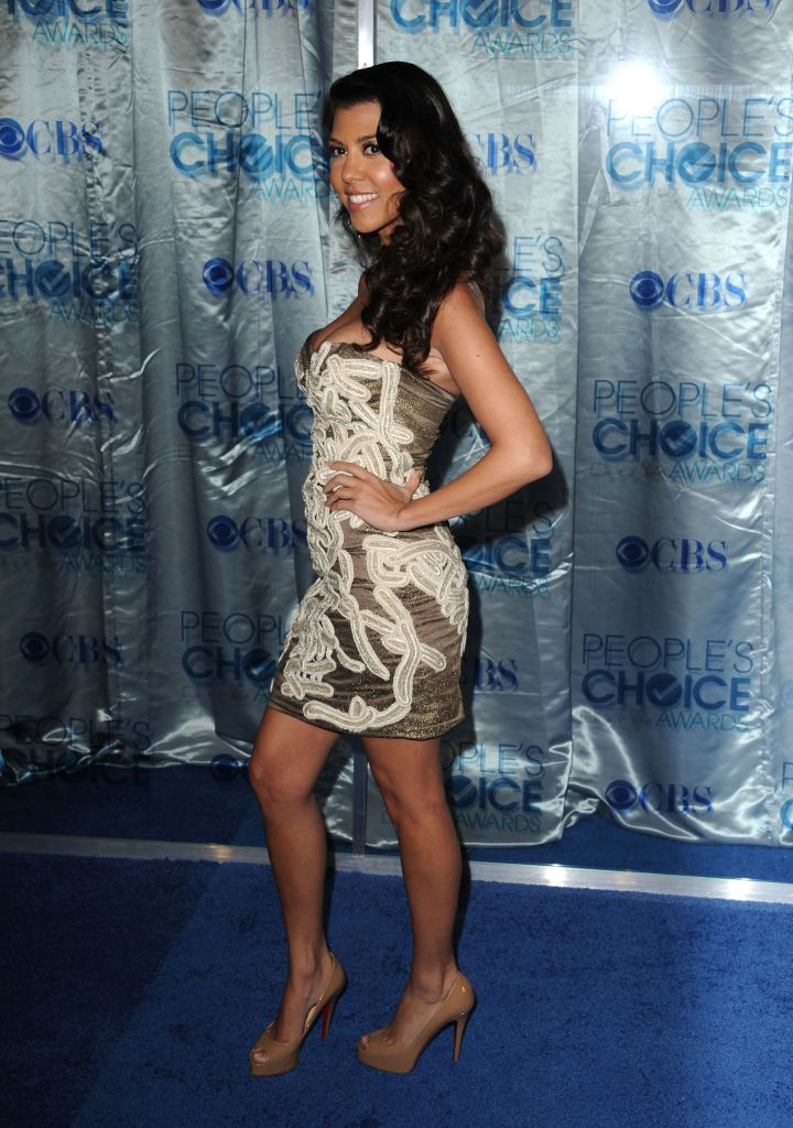Toned booty at the 2011 People's Choice Awards