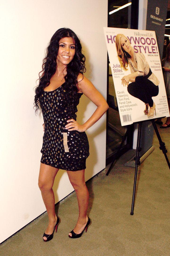 Itty bitty Kourtney Kardashian back in 2007.