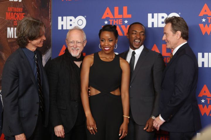 "The cast of HBO's ""All The Way."""