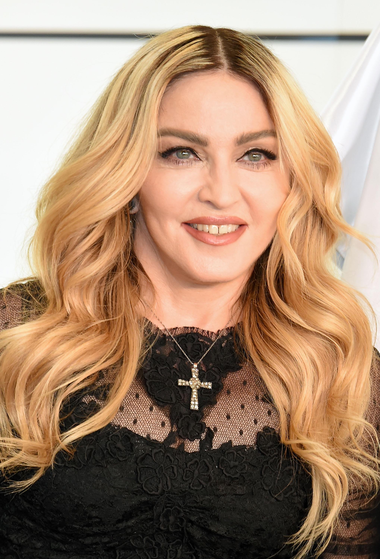 Madonna Promotes MDNA SKIN In Tokyo