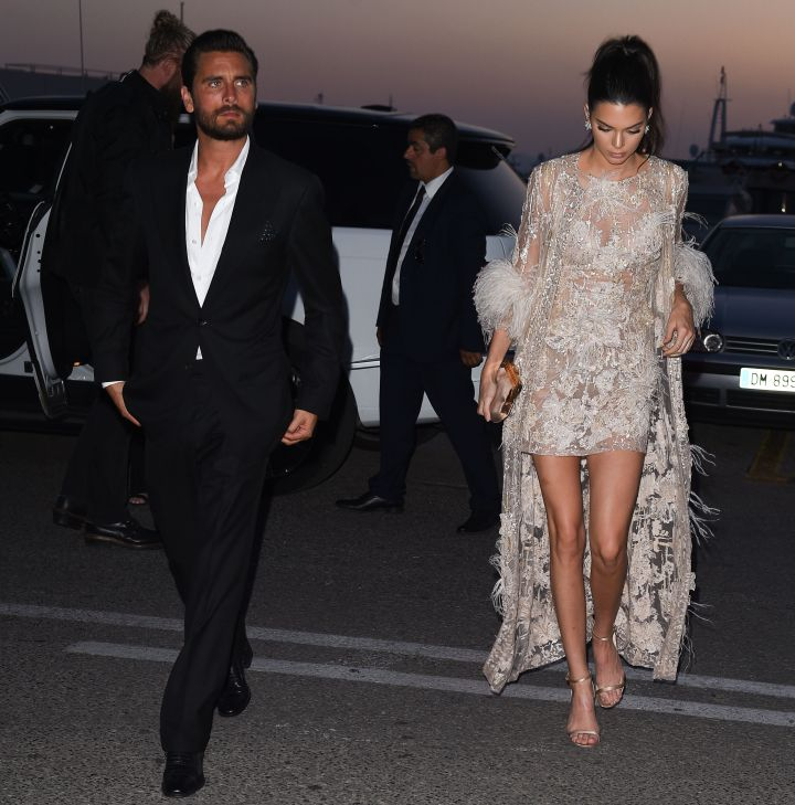 Spotted with Kendall, Scott Disick is also in Cannes for the film festival.