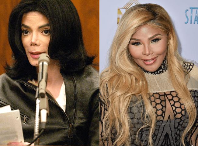 Michael Jackson and Lil Kim