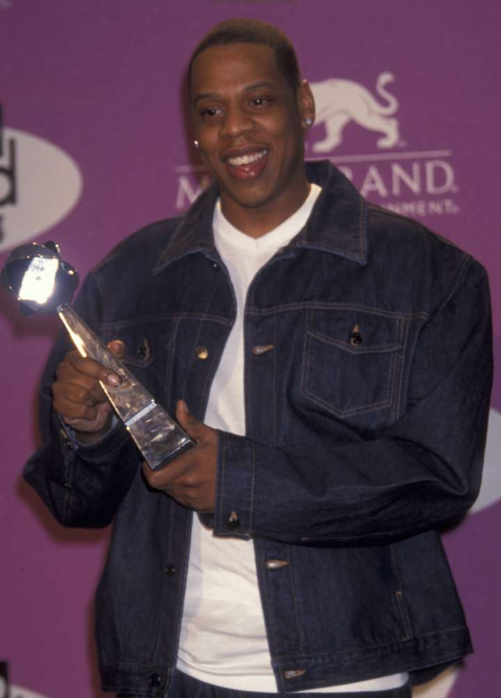 1999 – Back when Jay Z still did award shows and red carpets.