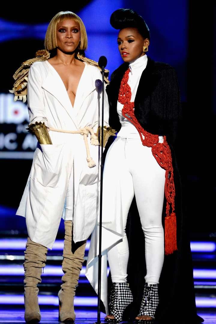 Erykah Badu and Janelle Monae gave major Queen vibes back in 2011.