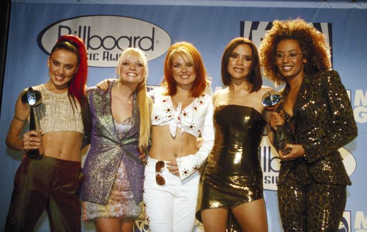 The Spice Girls ruled the '90s with girl power.