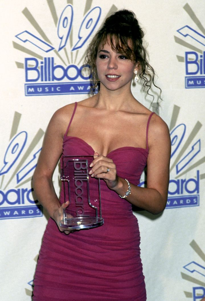 Mariah Carey was a Billboard queen in the early '90s.