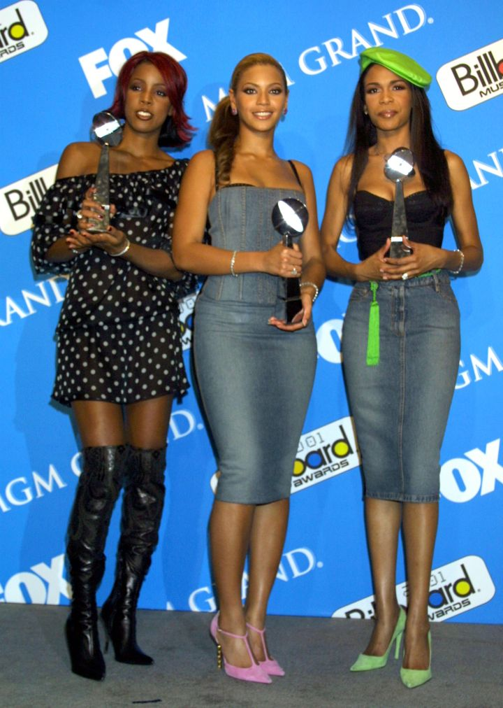 Destiny's Child evolved with the times, and took home multiple awards in 2001 while doing so.