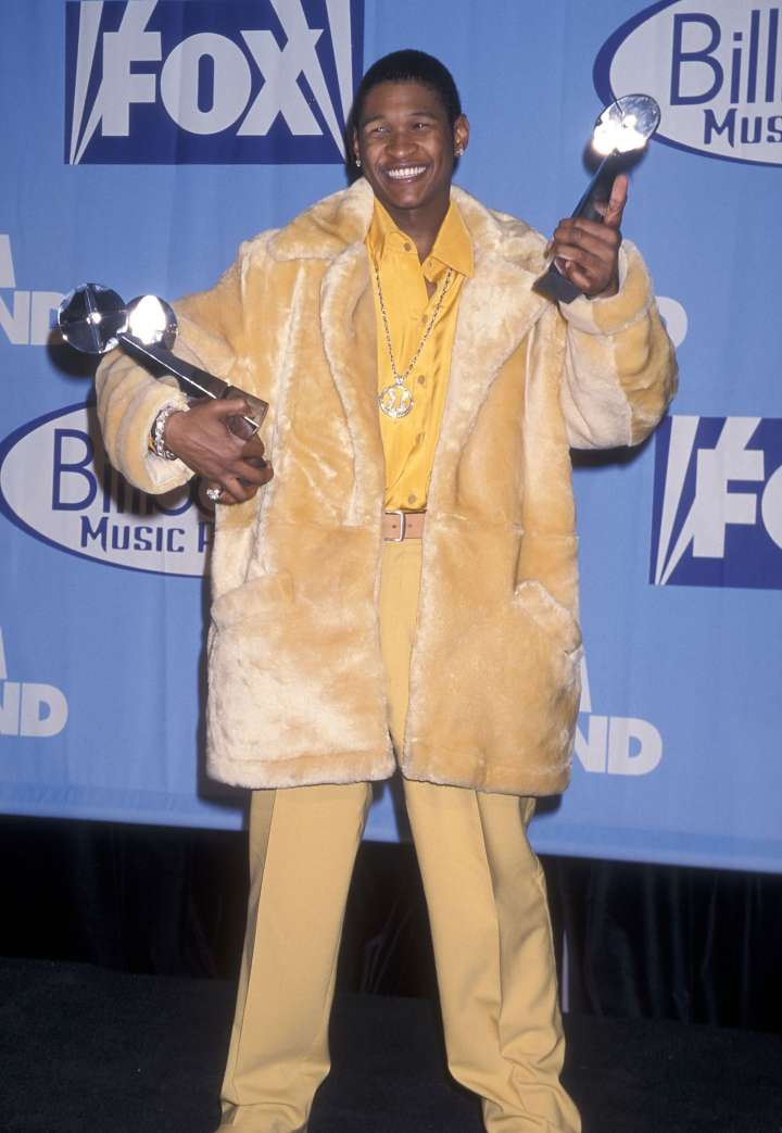 """Usher was a big winner back in 1997 following his """"My Way"""" album."""