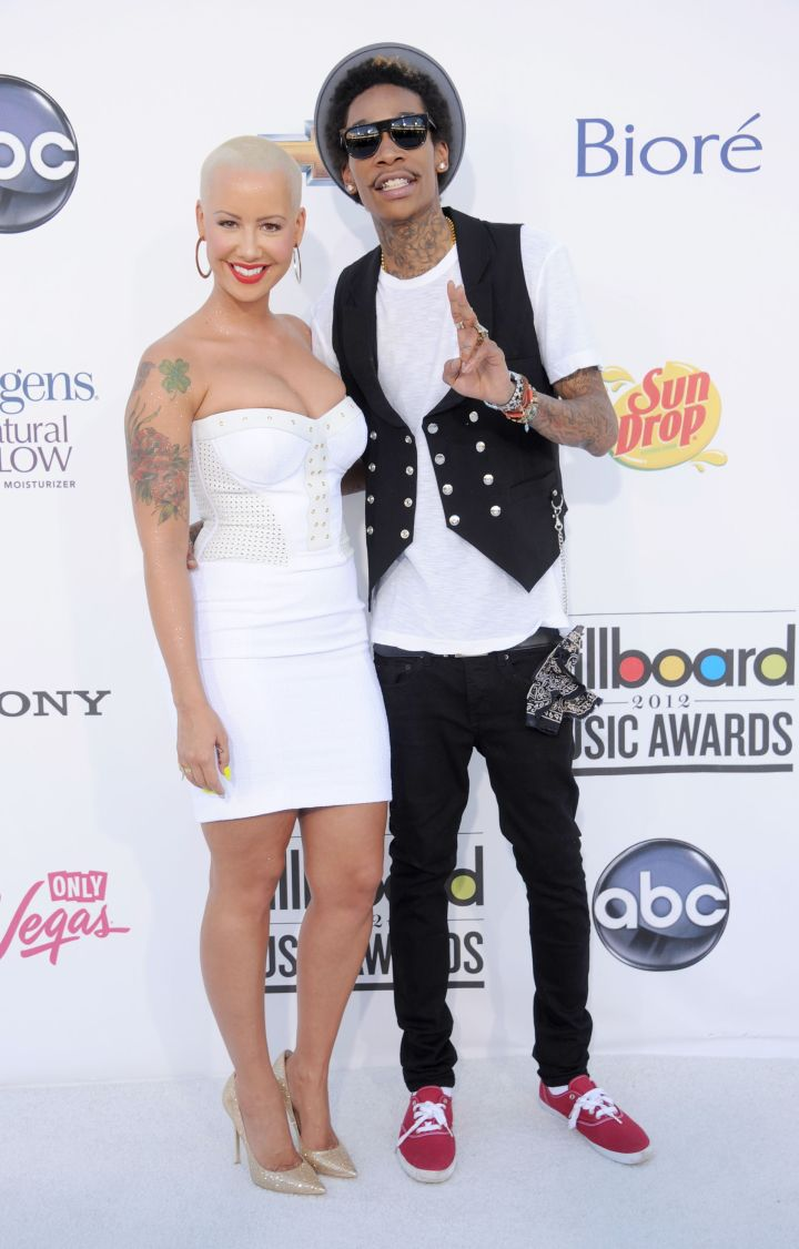 When Wiz and Amber Rose were still in newlywed bliss.