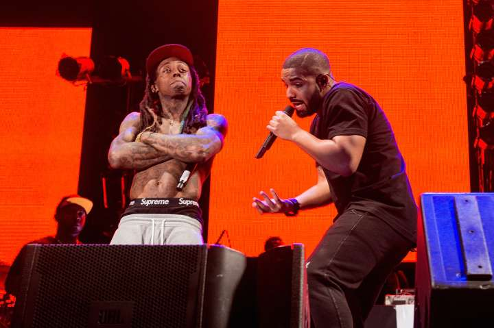 Of course, there's no Drizzy without Weezy.